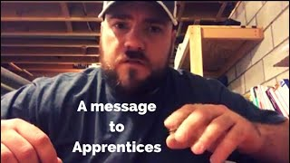 A message to HVAC apprentices (put time into yourself!!)
