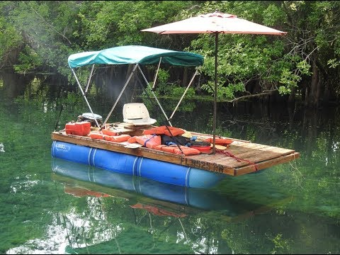 Homemade Pontoon Boat Part 8