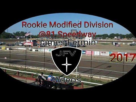 Rookie Modifieds #28, Heat, 81 Speedway, 2017