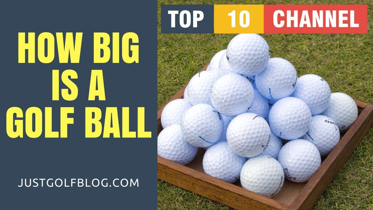 How Big is a Golf Ball in cm (centimeters) | Golf Ball ...