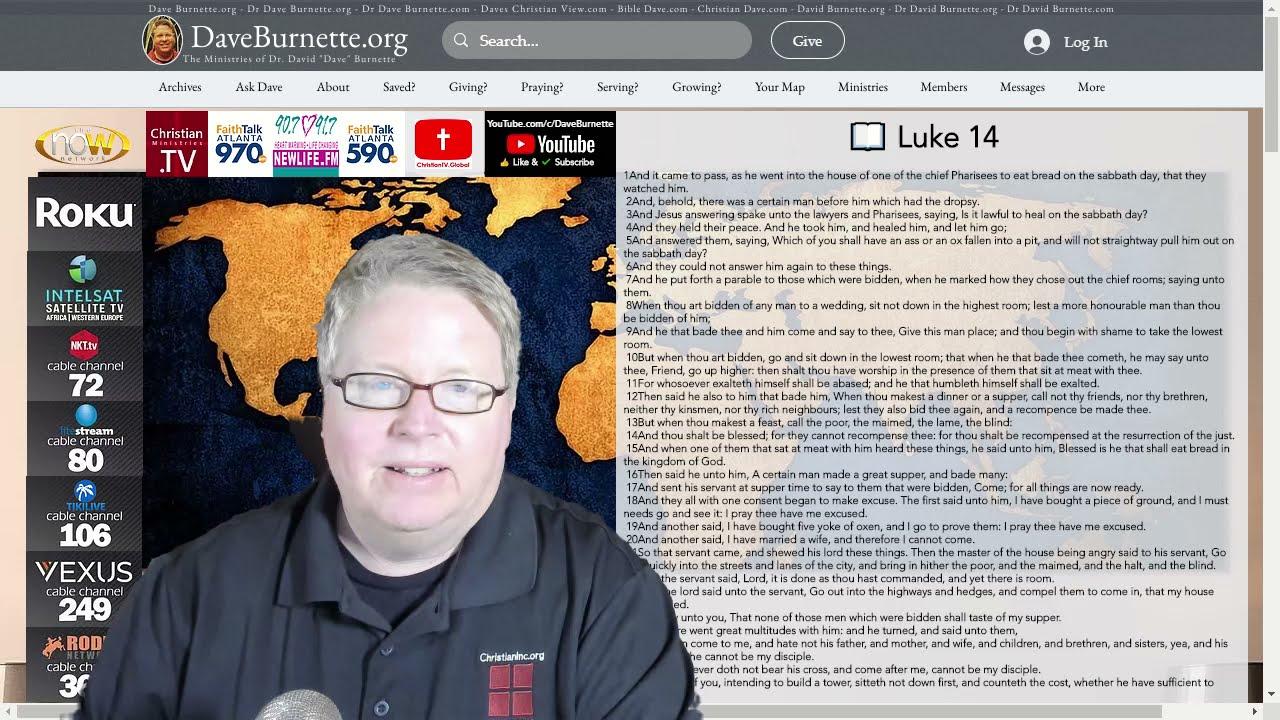 Luke 14 ✒️ Are You a Disciple?