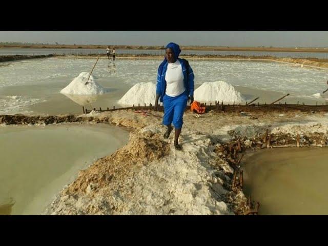 Watch: Senegal 'Salt Queen' tastes success in a man's world