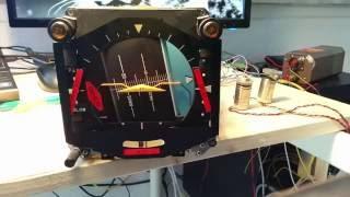 ADI - Flight Director - Horizon - Flight Simulator - Synchros