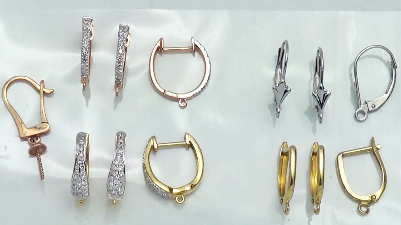 Demonstration Of Diffe Leverback Earrings For Your Jewelry Designs