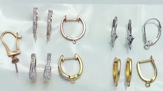 Demonstration of different Leverback Earrings for your Jewelry Designs
