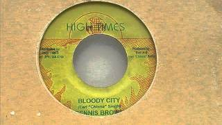 Dennis Brown - Bloody City + Dub / High Times Records