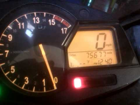 High Mileage Honda Cbr600rr Bike Youtube