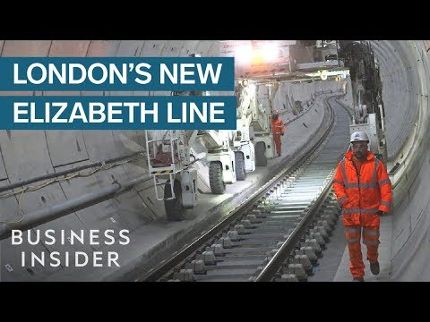 Inside London Underground's New £15bn Train Line