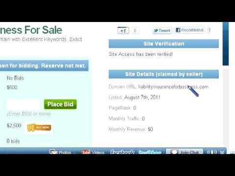 Liability Insurance For Business Domain For Sale