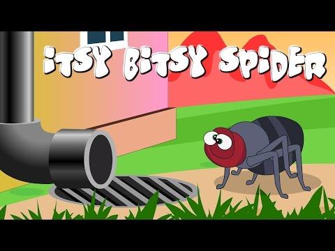 Itsy Bitsy Spider   Incy Wincy Spider Spider Nursery Rhyme with lyrics