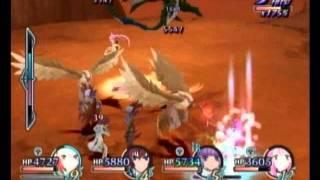 Wii版テイルズオブグレイセスのチャレンジバトル「トリニティフライヤー...