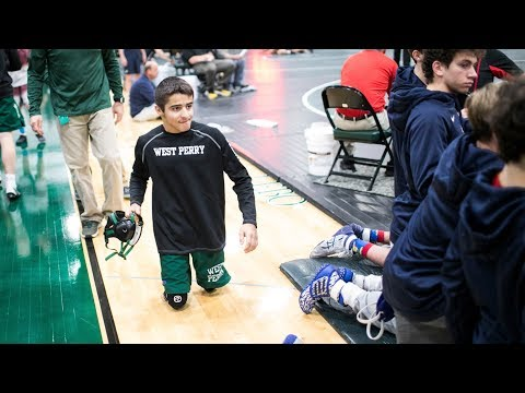 Double amputee Deven Jackson overcomes disability to wrestle for West Perry