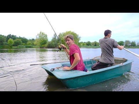 Tiny Boat Fishing for MASSIVE Fish -- Ch. 6