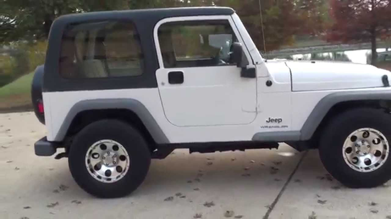 HD VIDEO 2003 JEEP WRANGLER RHD RIGHT HAND DRIVE MAIL DELIVERY TRUCK FOR  SALE SEE WWW SUNSETMOTORS O
