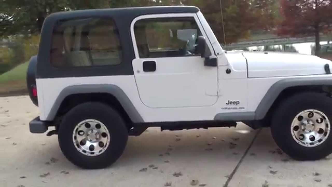 Hd Video 2003 Jeep Wrangler Rhd Right Hand Drive Mail