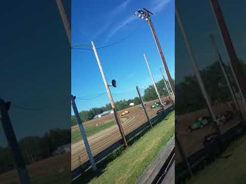 Bemidji speedway race