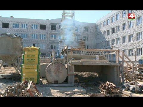 Новости Гродно. Новая школа в Ольшанке готовится к открытию. 10.04.2019