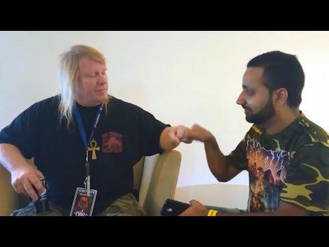NILE's Karl Sanders on Debut India Gig, Upcoming 'Evil' Album, Lineup Change & Social Media (2017)
