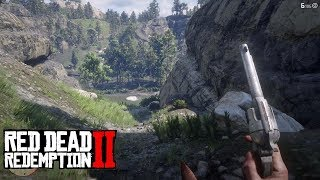 Red Dead Redemption 2 (RDR 2) - First Person Mode Free Roam Gameplay - Fight against Bounty Hunters