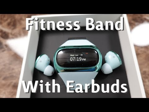 A Fitness Band With Built-In Bluetooth Earbuds? Aipower Wearbuds First Impressions