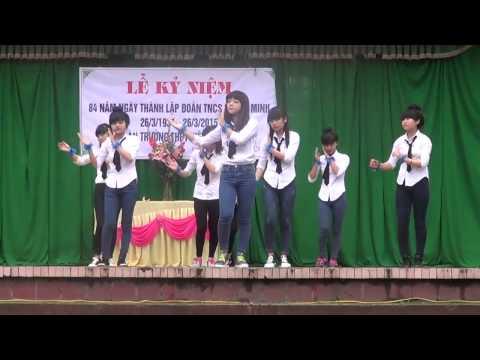 26/03/2015 Việt Yên 2 - BG - 12A2 - Nhảy DAY BY DAY