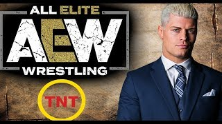 AEW announces TV Deal with TNT !!  - Its Official - DETAILS