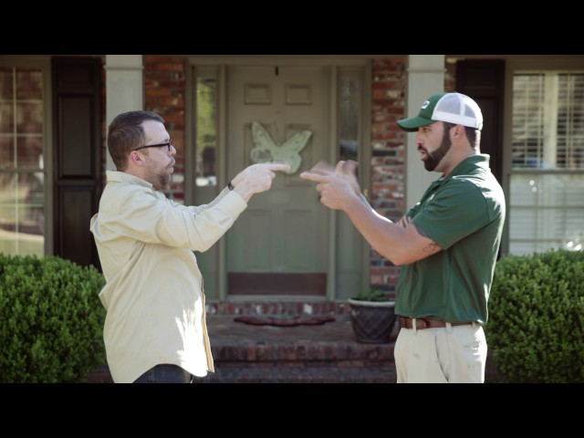 Adams Exterminators - Handshake Guy