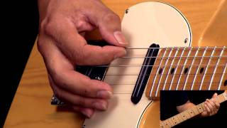 �������� ���� Rockabilly Guitar Lesson In The Style of Cliff Gallup ������