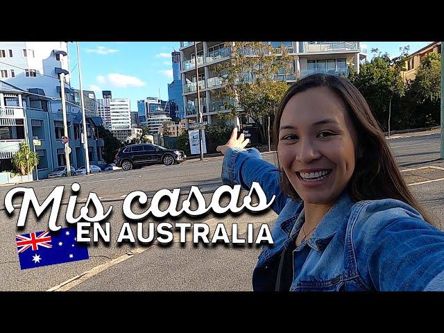 TODAS MIS CASAS EN AUSTRALIA !!! 🇦🇺 10 CASAS, 7 AÑOS  (Parte 1)| Springhill