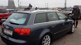 Пригон авто под заказ  Рынок Каунас нашли Audi A4 b7 2005 год 2.0 тди  смотрим