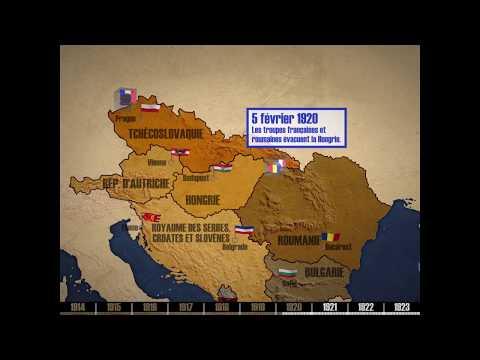 L'Europe Médiane Entre 1917 Et 1923