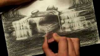 How To Draw A Waterfall Part 5 / 5