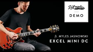 Excel Mini DC Demo with Myles Jasnowski | D'Angelico Guitars