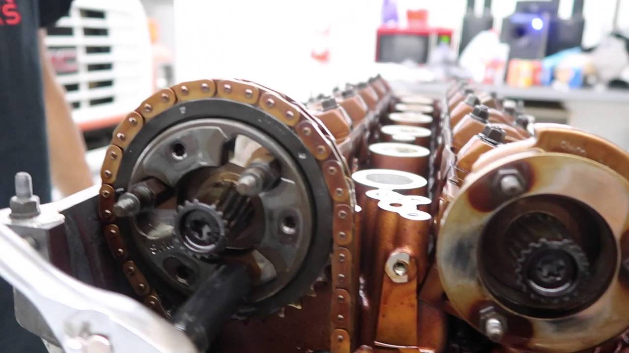 s54 cylinder head removal