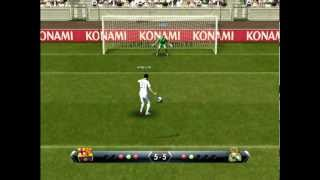 PES 2013 - Penalty Shootout [Real Madrid vs Barcelona]