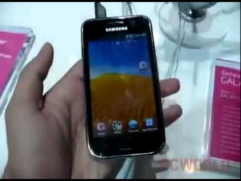 CES 2011 Hands-on: Samsung Galaxy Player