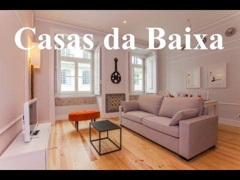Lisbon Holiday Apartments Rentals .Casas Da Baixa . Portugal