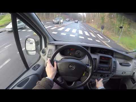 Opel Vivaro 2.0 CDTI (2011) - POV Drive