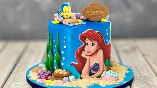 Little Mermaid Cake  Ariel Mermaid Cake