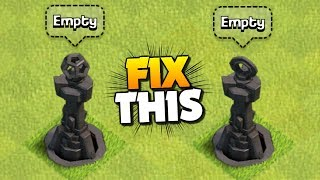 NEW SERIES! How to FIX a RUSHED BASE ep 1 | Clash of Clans