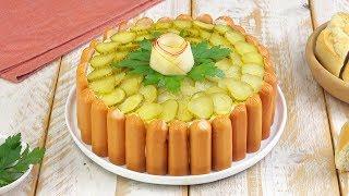 Картофельный Салат С Сосисками: Ваш Новый Праздничный Рецепт Салата