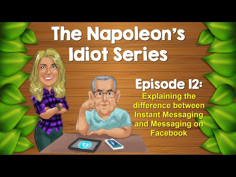 Explaining the Difference between Instant Messaging and Messaging on Facebook