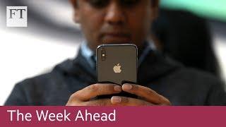 Apple launches new iPhones, Juncker speech
