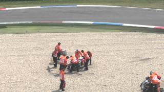 MotoGP Jack Miller Crashes Barbera out of the Race! Dutch TT 2015