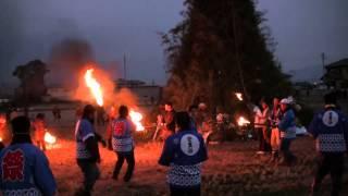 2014.1.12(日)・多神社 灯の路と大とんど(奈良県田原本町)