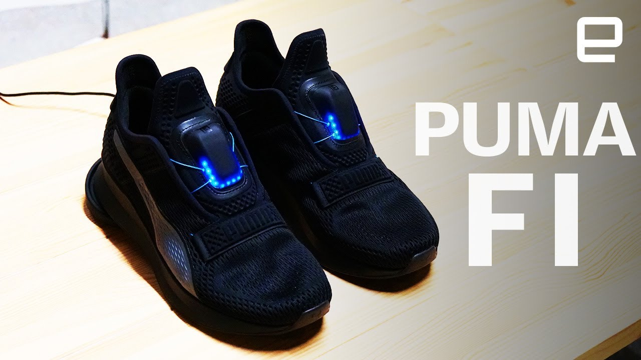 competitive price buy cheap uk cheap sale Puma lance des chaussures qui se lacent... avec un iPhone ...