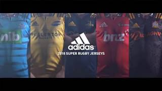 adidas 2018 Super Rugby Home Shirts