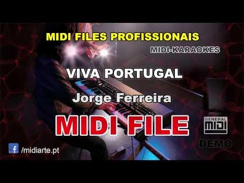 ♬ Midi file  - VIVA PORTUGAL - Jorge Ferreira