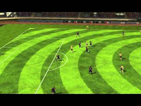FIFA 14 Android - Dudley City VS FC Barcelona