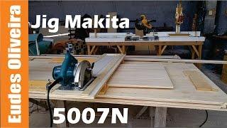 Jig para Serra circular Makita 5007N/ Jig for circular saw Makita 5007N